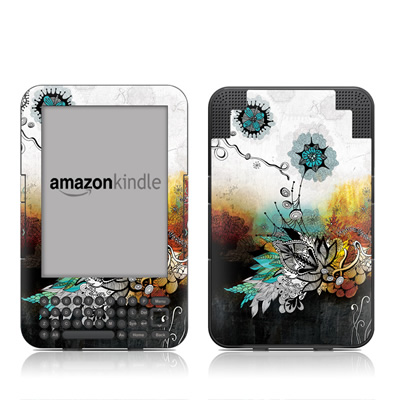 Kindle Keyboard Skin - Frozen Dreams