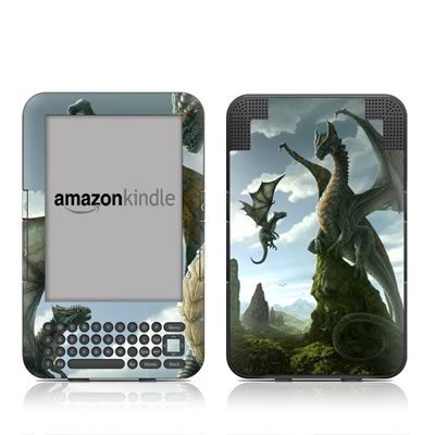 Kindle Keyboard Skin - First Lesson