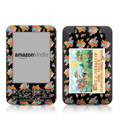 Kindle Keyboard Skin - Forty Year Journey