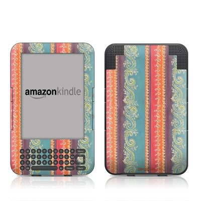 Kindle Keyboard Skin - Fresh Picked