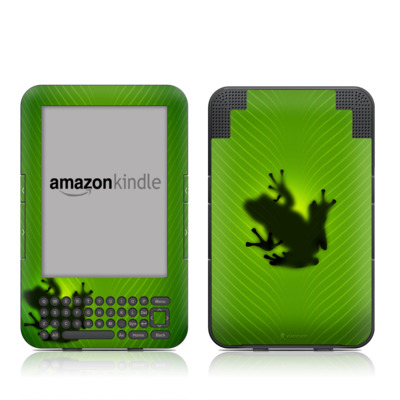 Kindle Keyboard Skin - Frog