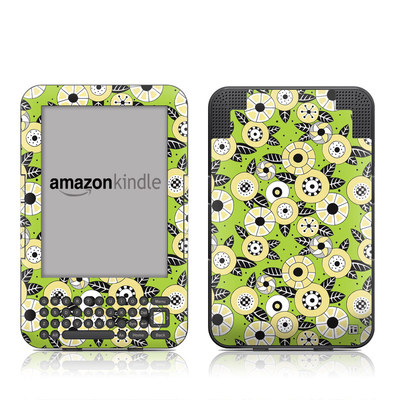 Kindle Keyboard Skin - Funky