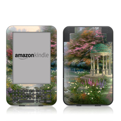 Kindle Keyboard Skin - Garden Of Prayer