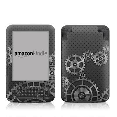 Kindle Keyboard Skin - Gear Wheel