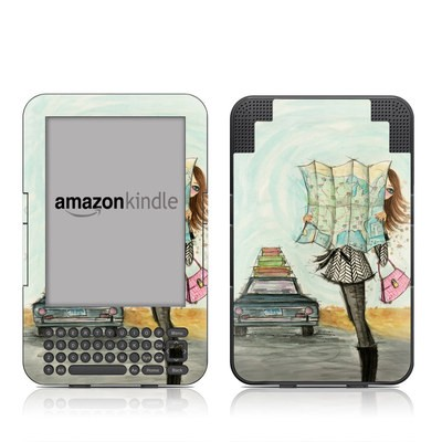 Kindle Keyboard Skin - Getting There