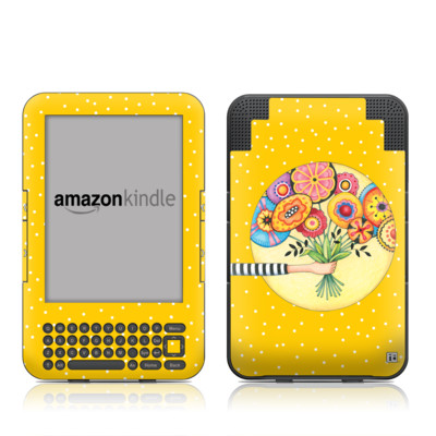 Kindle Keyboard Skin - Giving