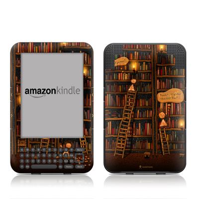 Kindle Keyboard Skin - Google Data Center