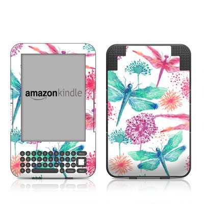 Kindle Keyboard Skin - Gossamer