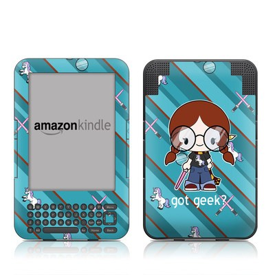 Kindle Keyboard Skin - Got Geek