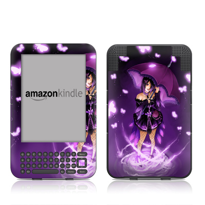 Kindle Keyboard Skin - Gothic