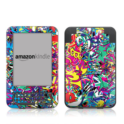 Kindle Keyboard Skin - Graf