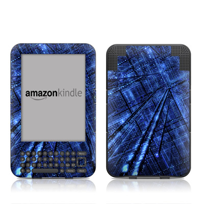 Kindle Keyboard Skin - Grid