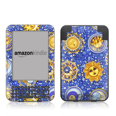 Kindle Keyboard Skin - Heavenly