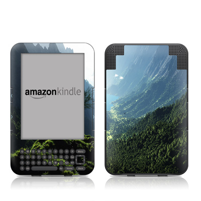 Kindle Keyboard Skin - Highland Spring