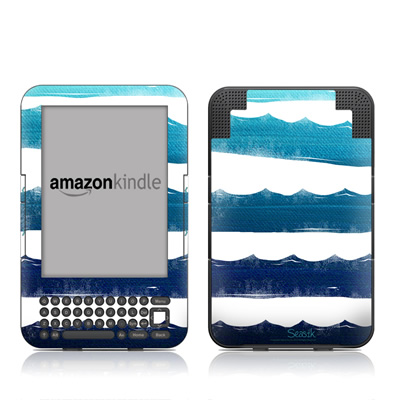 Kindle Keyboard Skin - Horizon Lines