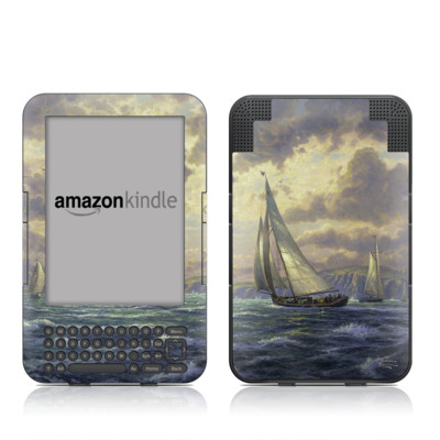 Kindle Keyboard Skin - New Horizons