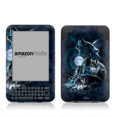 Kindle Keyboard Skin - Howling