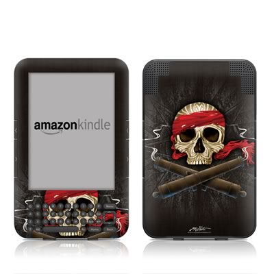 Kindle Keyboard Skin - High Seas Drifter