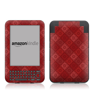 Kindle Keyboard Skin - Humidor