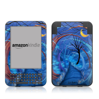 Kindle Keyboard Skin - Ichabods Forest