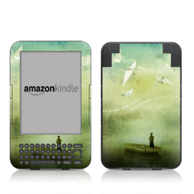 Kindle Keyboard Skin - If Wishes