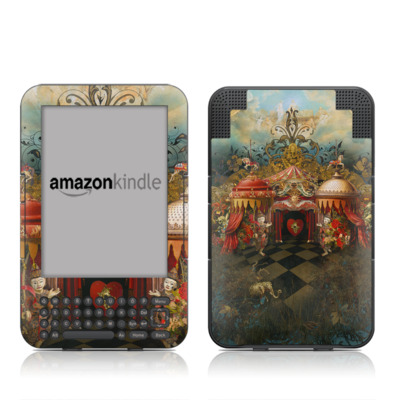 Kindle Keyboard Skin - Imaginarium