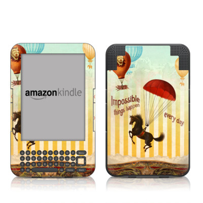 Kindle Keyboard Skin - Impossible