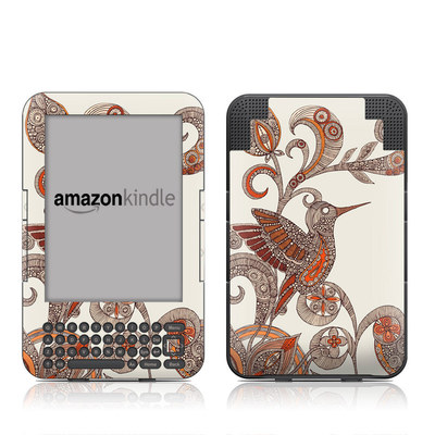 Kindle Keyboard Skin - You Inspire Me
