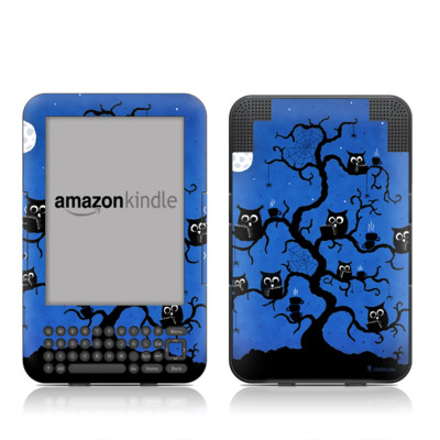 Kindle Keyboard Skin - Internet Cafe