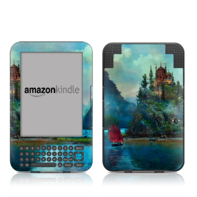 Kindle Keyboard Skin - Journey's End