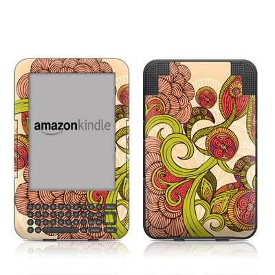 Kindle Keyboard Skin - Jill