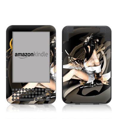 Kindle Keyboard Skin - Josei 4