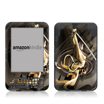 Kindle Keyboard Skin - Josei 6