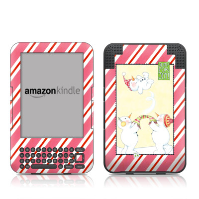 Kindle Keyboard Skin - Jump for Joy