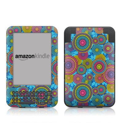 Kindle Keyboard Skin - Kyoto