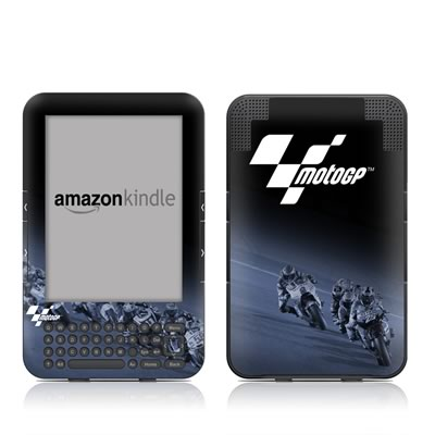 Kindle Keyboard Skin - Leaning