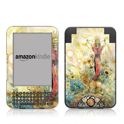 Kindle Keyboard Skin - Leo