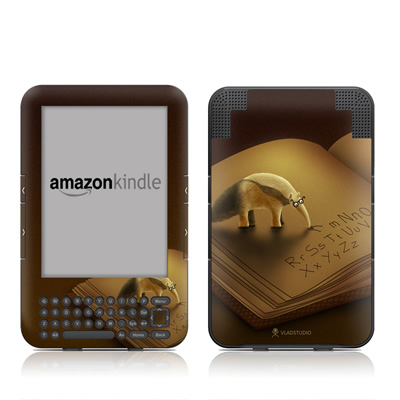 Kindle Keyboard Skin - Lettereater