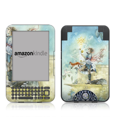 Kindle Keyboard Skin - Libra