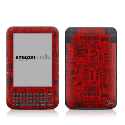 Kindle Keyboard Skin - Life of MotoGP