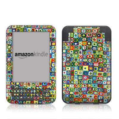 Kindle Keyboard Skin - Line Dancing