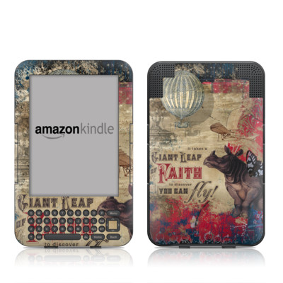 Kindle Keyboard Skin - Leap Of Faith