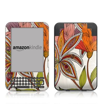 Kindle Keyboard Skin - Lou