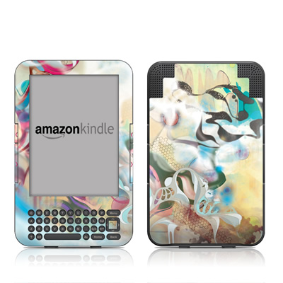 Kindle Keyboard Skin - Lucidigraff
