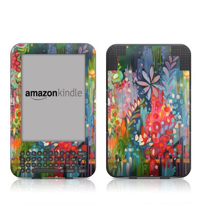 Kindle Keyboard Skin - Lush