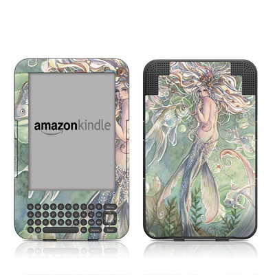 Kindle Keyboard Skin - Lusinga