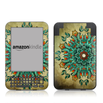 Kindle Keyboard Skin - Mandela