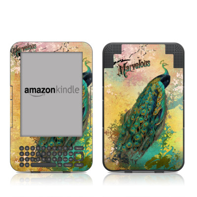 Kindle Keyboard Skin - Marvelous