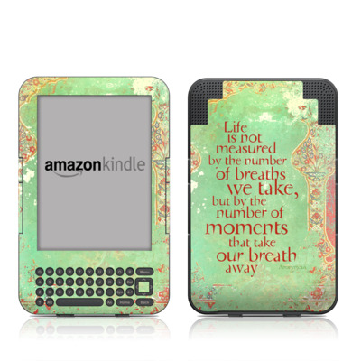 Kindle Keyboard Skin - Measured