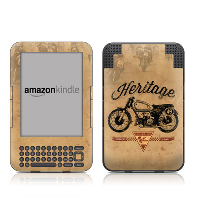 Kindle Keyboard Skin - MotoGP Heritage